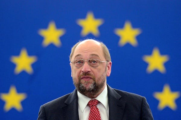 European parliament president Martin Schulz. Picture: Getty