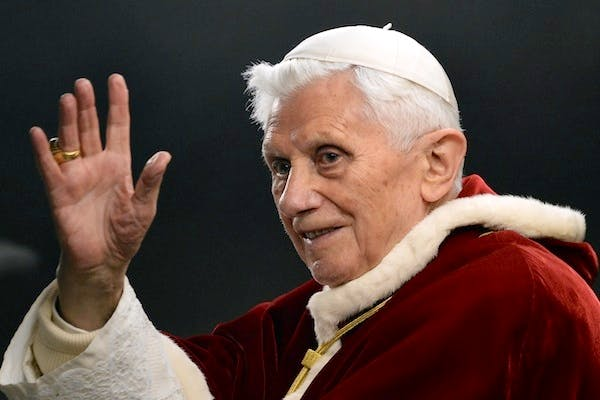 There is a rumour in Rome that Pope Benedict XVI was pushed out by a 'gay mafia'. Picture: Getty
