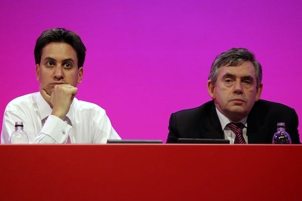 Ed Miliband today pledged to restore the 10p tax band scrapped by Gordon Brown. Picture: Getty