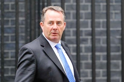 Liam Fox is giving a speech on the economy to the IEA today. Picture: Getty