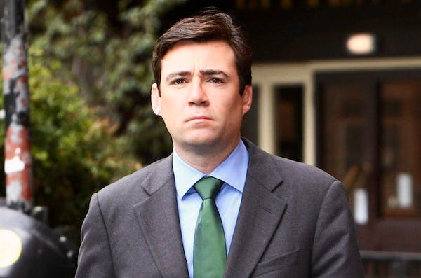 Andy Burnham arriving at the public inquiry into the Mid Staffordshire Trust. Tory ministers and MPs have been pinning the blame for the scandal firmly on the former Health Secretary and his Labour colleagues. Picture: Getty