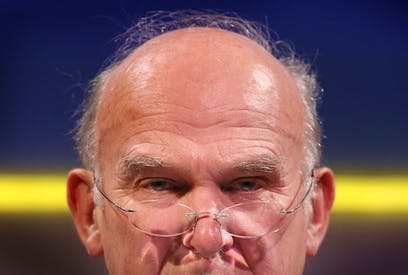 Vince Cable criticised ring-fencing. Picture: Getty