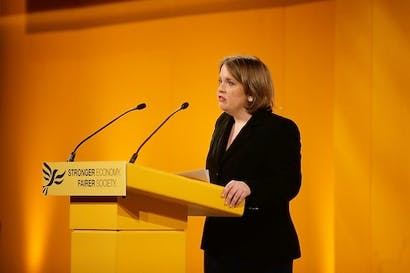 Jo Shaw announces her resignation over secret courts. Picture: Getty