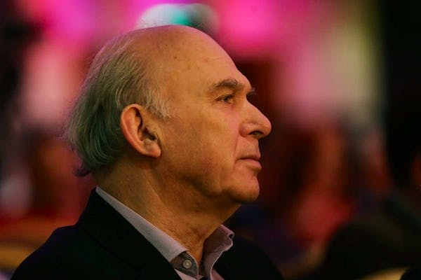 Vince Cable remained mysterious for as long as possible on how the Lib Dems would vote on the mansion tax. Picture: Getty