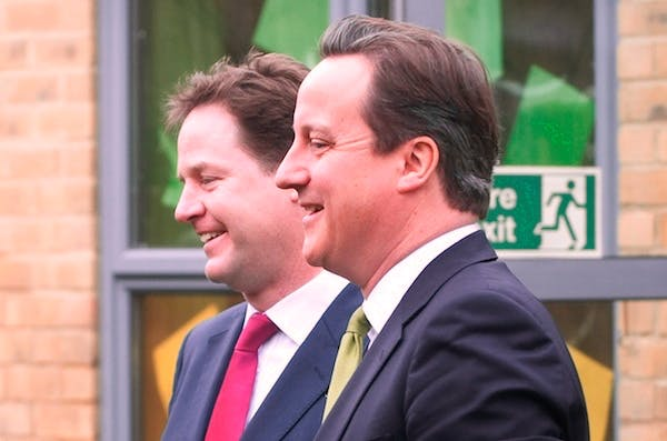 Nick Clegg gave his immigration speech today, and the PM delivers his own on Monday. Picture: Getty