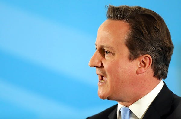 David Cameron has a round of meetings this week with European leaders. Picture: Getty