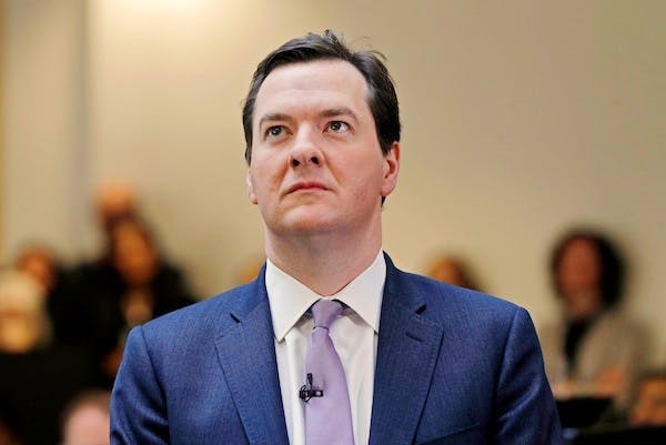 The date George Osborne's enemies are looking forward to, and his allies dreading, is next Thursday, when the next set of GDP figures are published. Picture: Getty