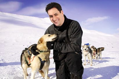 Miliband needs to find his equivalent of a husky-hugging moment. Picture: Carla Millar