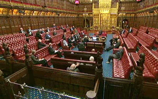 Peers pay tribute to Margaret Thatcher.