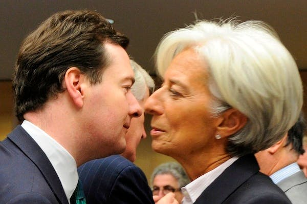 Will George Osborne feel quite so warm about Christine Lagarde when the IMF delivers its assessment of the UK economy? Picture: Getty