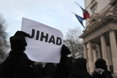 It seems likely that many Muslim organisations — university Islamic societies, for example — are subverted by jihadists. Picture: Getty