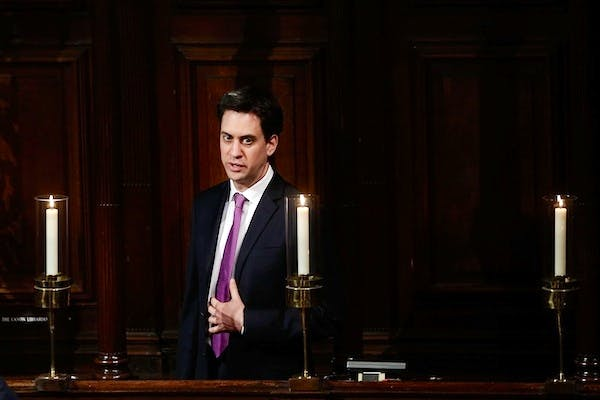 Ed Miliband is trying to work out whether he can really sell the distinction between good and bad borrowing to voters. Picture: Getty