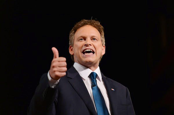 Grant Shapps and his Tory colleagues are thrilled that Labour will abstain on the EU referendum bill. Picture: Getty