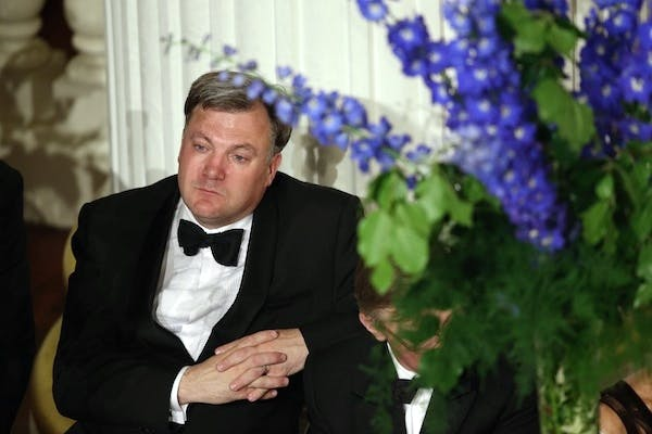 Ed Balls in a quiet moment last week. Picture: Getty