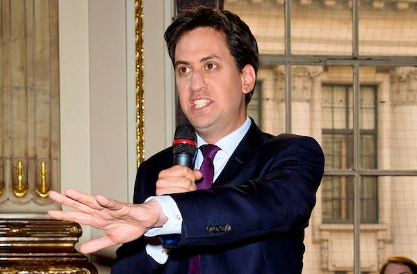 Ed Miliband. Picture: Getty