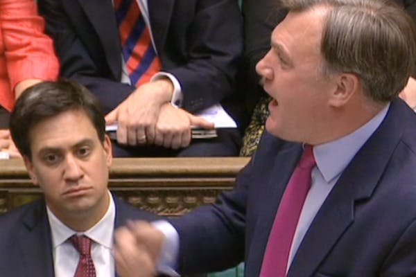 Ed Balls responding to the spending review announcement today.