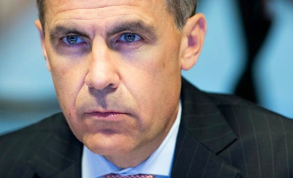 Mark Carney on his first day as Governor of the Bank of England. Picture: Getty