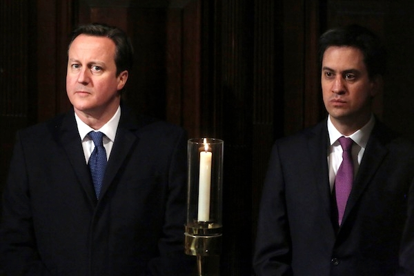 Ed Miliband and David Cameron get personal in PMQs