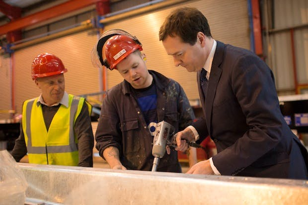 Backbenchers grilled George Osborne and colleagues on what was being done to attract 'blue collar Conservatives'. Picture: Getty