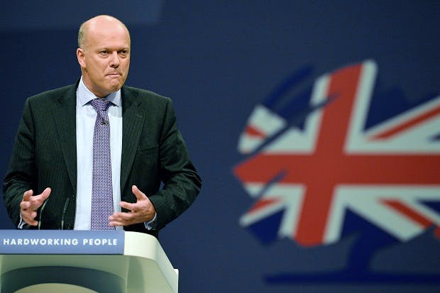 Chris Grayling is an advertisement for a Labour government ...