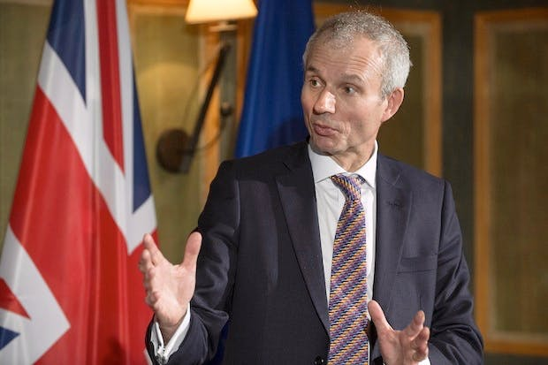 Europe Minister David Lidington. Picture: PA