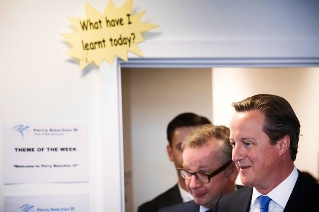 David Cameron has rebuked Michael Gove for comments he made to the FT. Picture: Getty