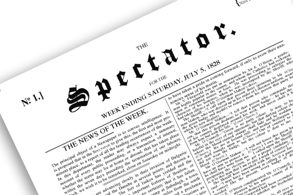 Welcome to The Spectator Archive: 180 years of history now