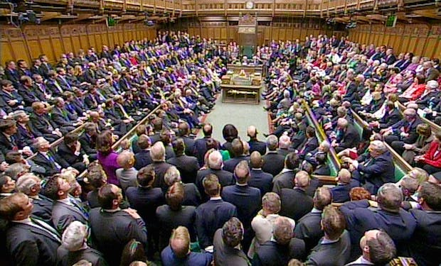 A general view of the House of Commons, London, as MPs gather for the first time since the General Election on 18 May 2010. Picture: PA