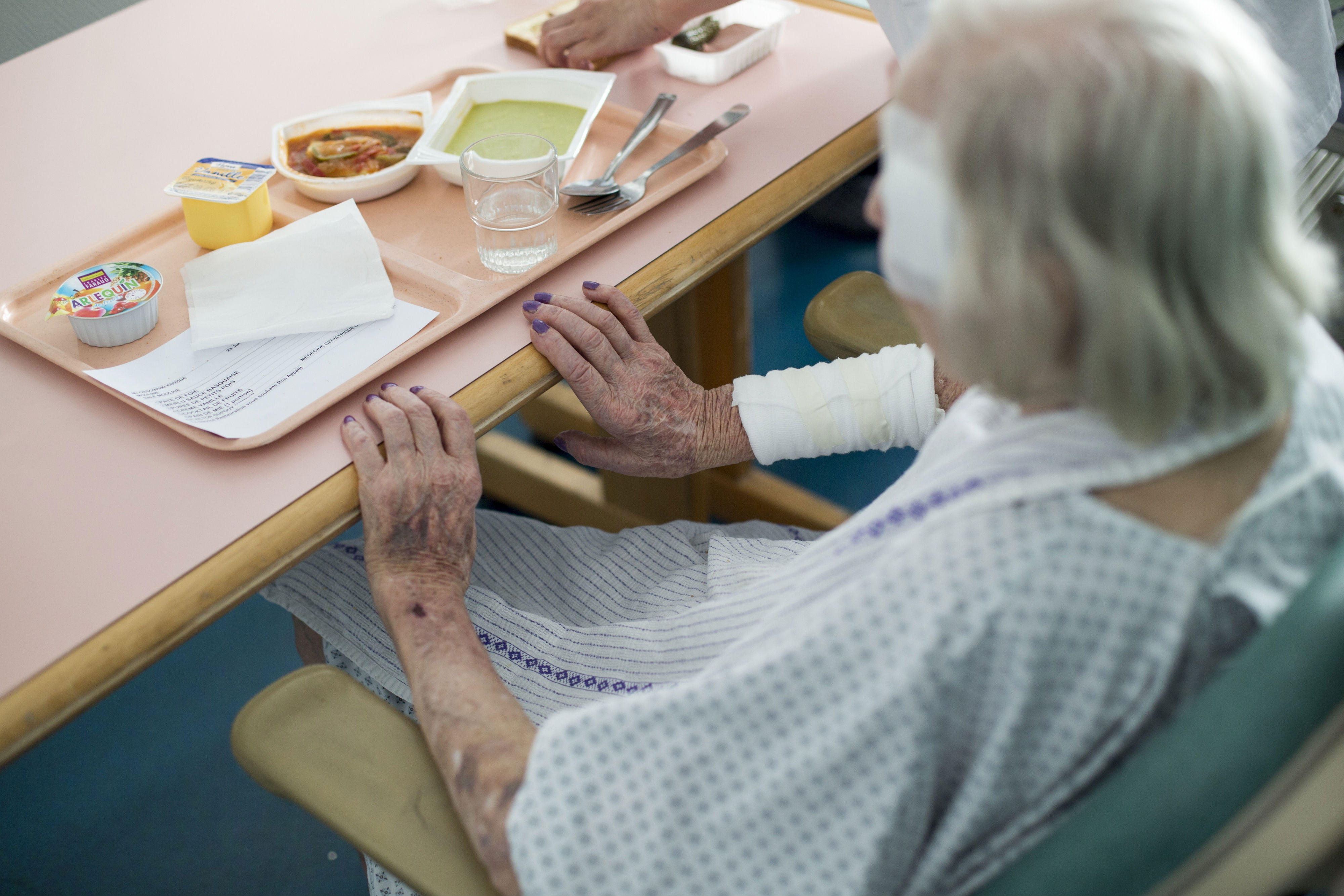 Old, vulnerable and hungry – the shocking view from inside the NHS