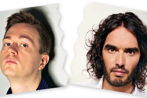 Is the dream over? Russell Brand and Johann Hari go their
