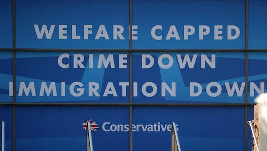 The 2013 Tory conference (Photo by Christopher Furlong/Getty Images)