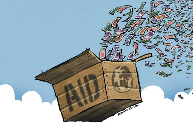 Why do our leaders continue to squander money on overseas aid?