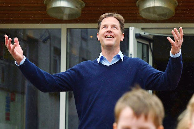 Nick Clegg's Final Day On The Campaign Trail