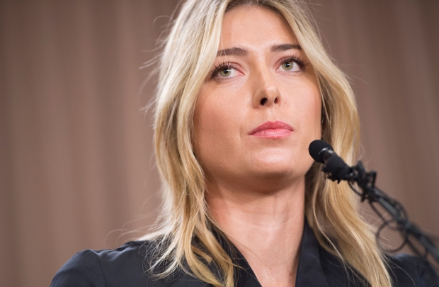 Why did Maria Sharapova allow herself to get caught?