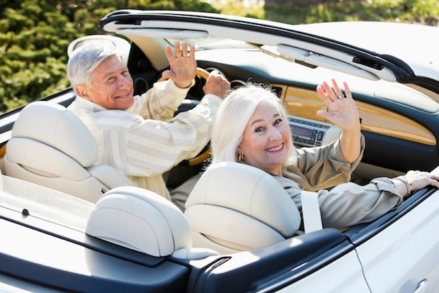 One in six pensioners lives in a millionaire household