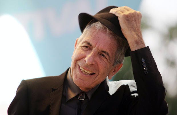 Death of Leonard Cohen – how the light gets in | Coffee House
