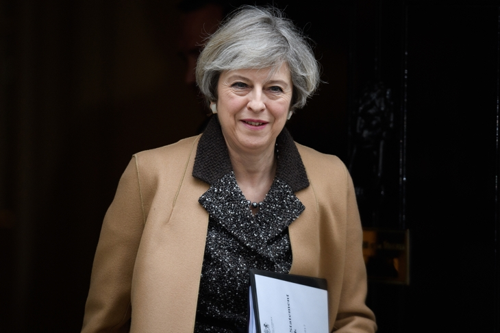 Theresa May says she will trigger Brexit next Wednesday