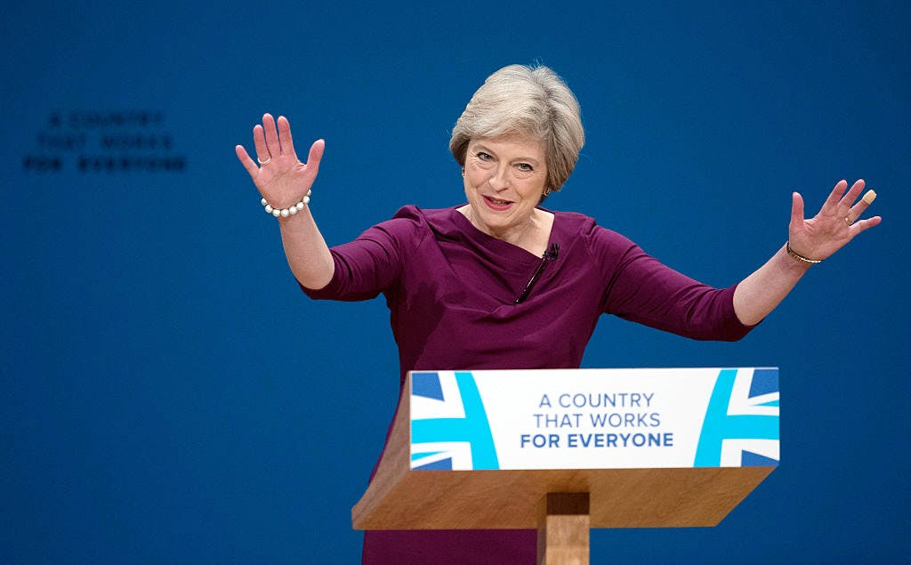 98601361a4 Theresa May s Conservative conference speech