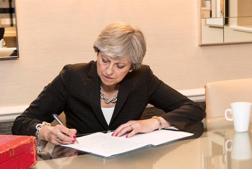 Theresa Mays Conservative Conference Speech Full Text Coffee House