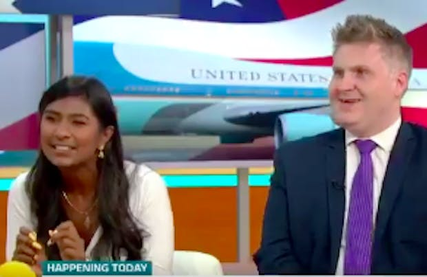Trump protests: Ash Sarkar vs Piers Morgan – 'I'm a communist, you idiot!' | Coffee House