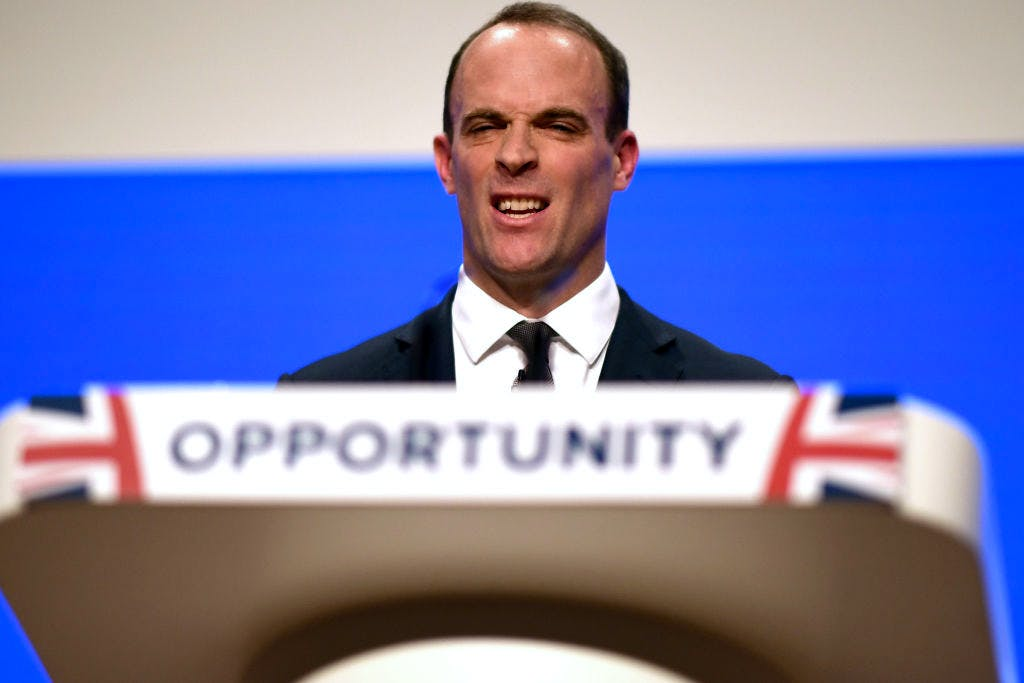 Full text: Dominic Raab's Conservative conference speech