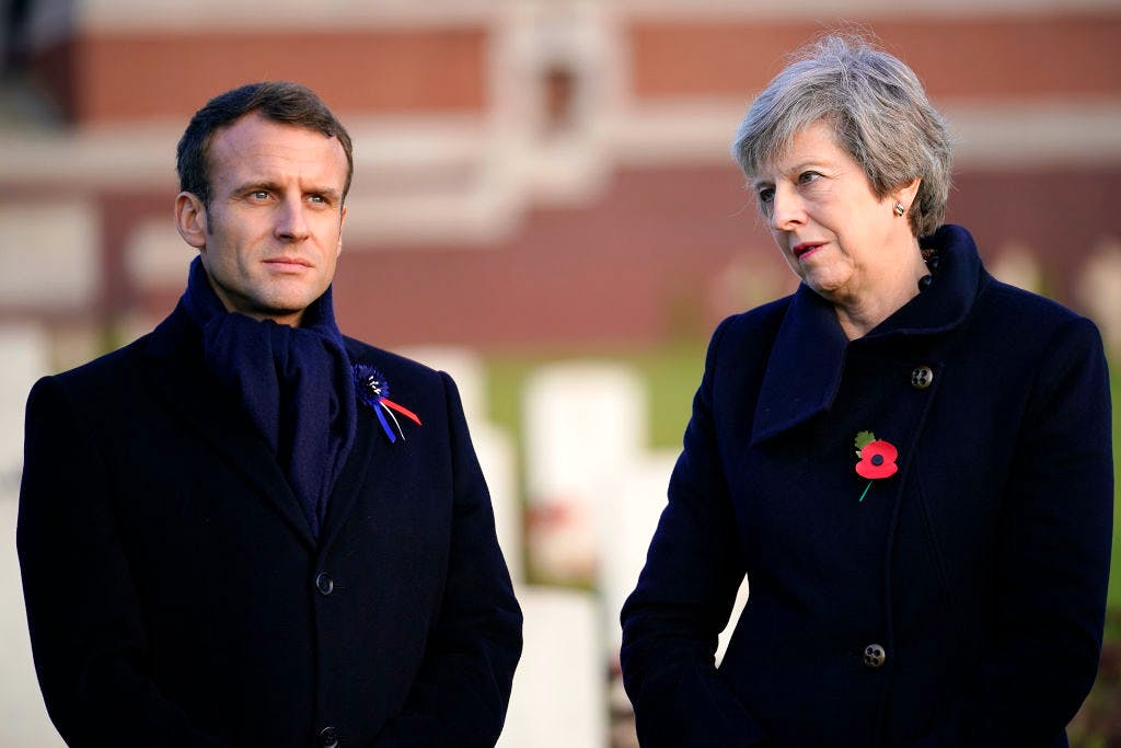 Is Emmanuel Macron about to call Theresa May's bluff on the Brexit backstop? | Coffee House