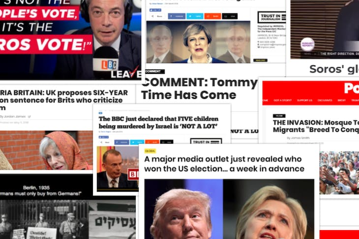 The campaign to boycott the extremists who peddle fake news   Coffee House