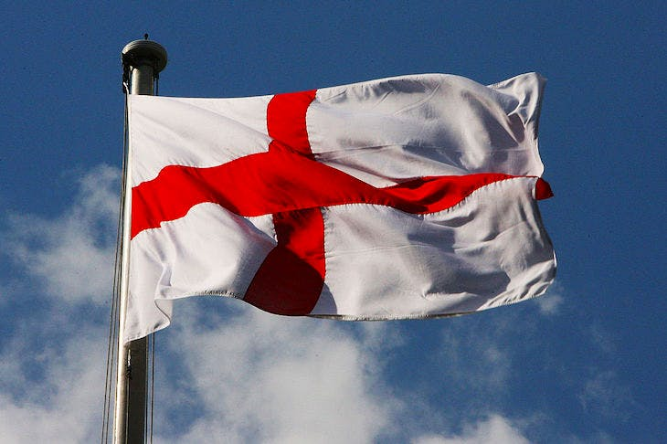 The St George flag. Image: Getty