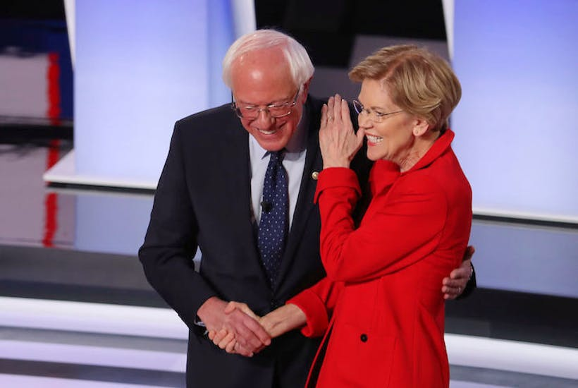 Democrats Are Spotlighting Big >> Warren And Sanders Were The Big Winners Of The Latest Democratic