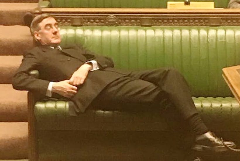 There's nothing wrong with Rees-Mogg lying down in the Commons | Coffee House