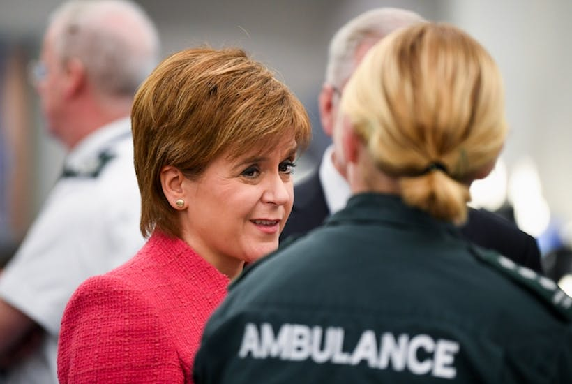 Sturgeon rumbled on Scottish NHS figures | Coffee House