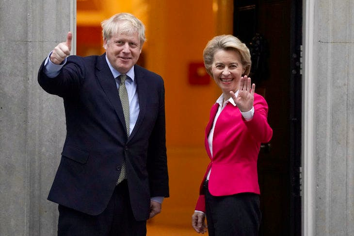 Trade talks between the UK and the EU are heading for a blow-up | Coffee House